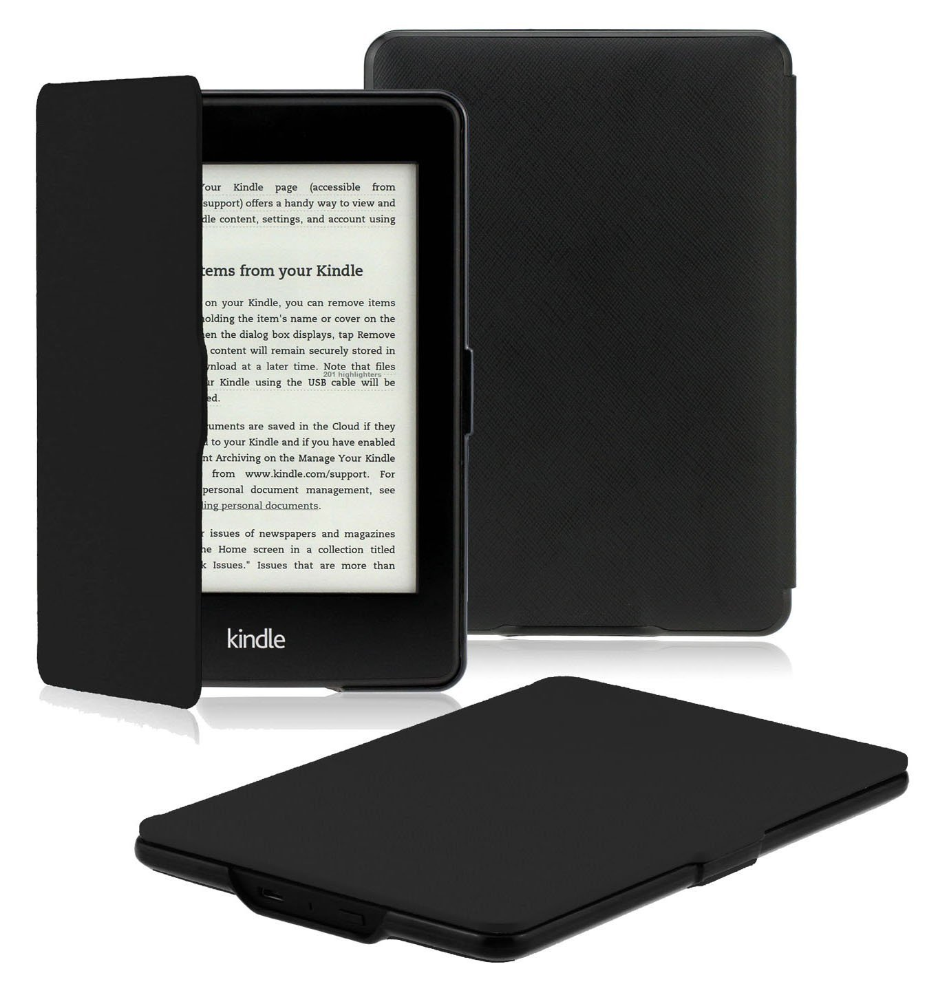 Best rated in ebook readers accessories helpful customer omoton kindle paperwhite case cover the thinnest and lightest pu leather smart cover for all new kindle paperwhite fits all versions2012 2013 2014 fandeluxe Ebook collections