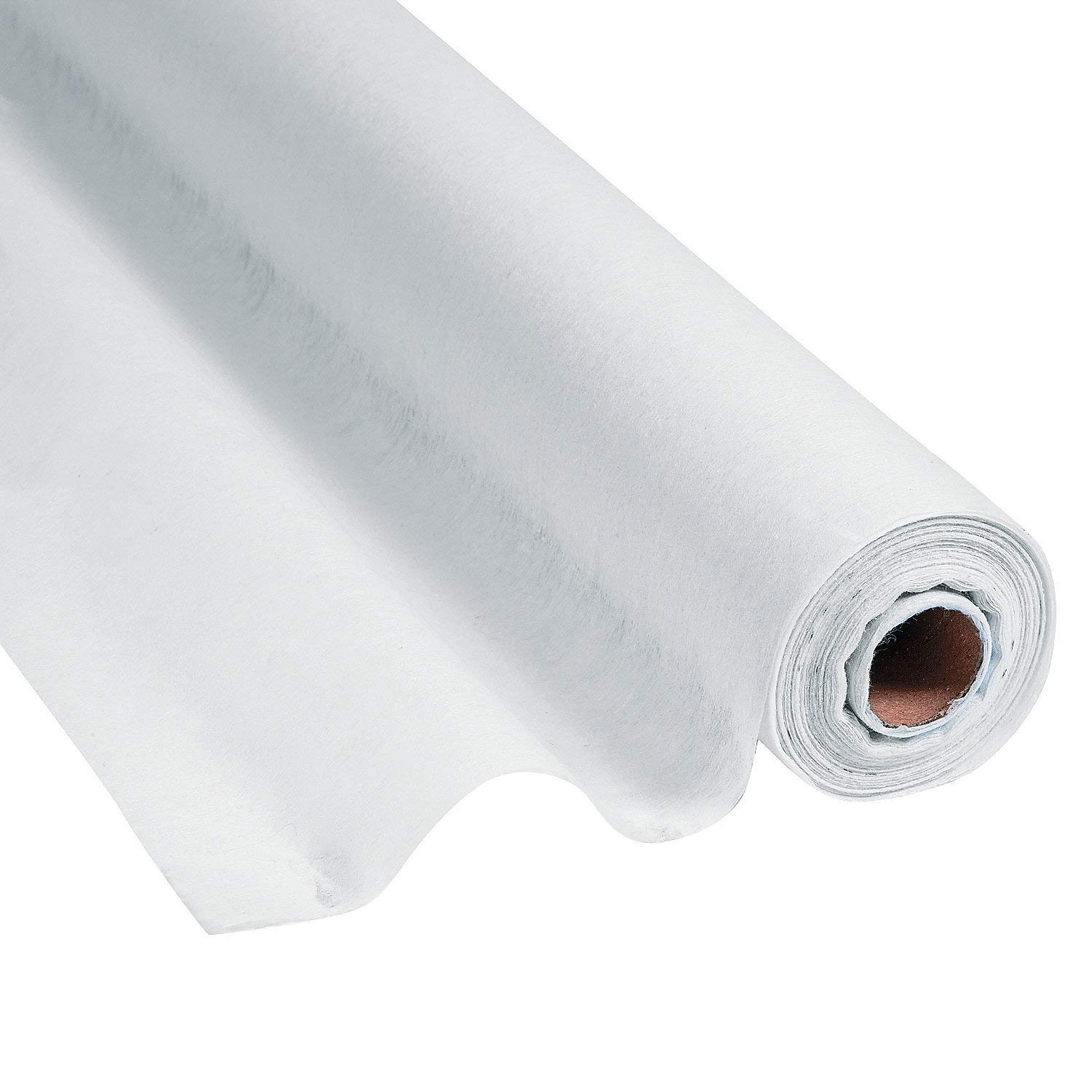 Fun Express White Gossamer Roll 100 FT x 3 FT-Prom & Wedding Decor-Party Supplies-1 Roll by Fun Express