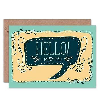 Amazon com: Wee Blue Coo Card Greeting Friend Friendship