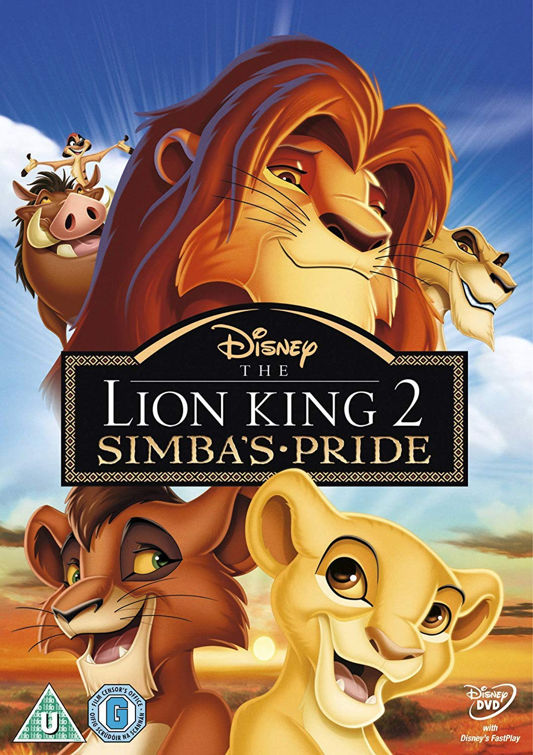Amazon Com The Lion King 2 Simba S Pride Special Edition Dvd Matthew Broderick Neve Campbell Andy Dick Robert Guillaume James Earl Jones Movies Tv