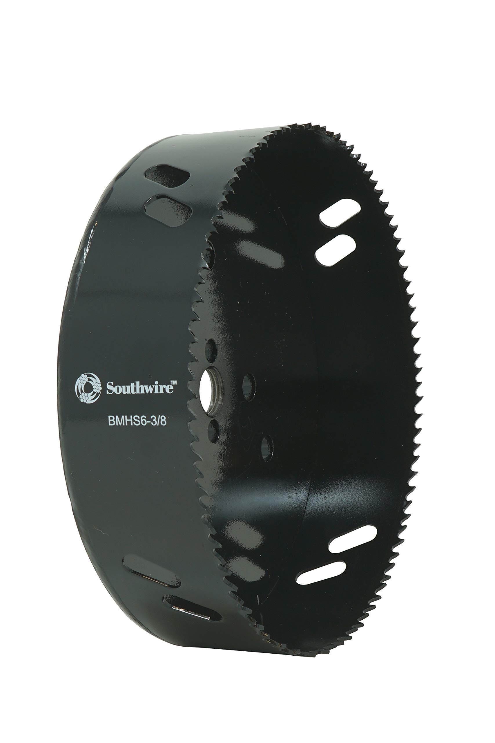 Southwire Tools & Equipment BMHS6-3/8 Bi-Metal Hole Saw, 6-3/8'' Diameter, Perfect For Recessed & Can Lights. Great Metal, Wood, Drywall Saw by Southwire