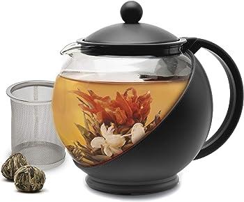Primula Half Moon Black Teapot
