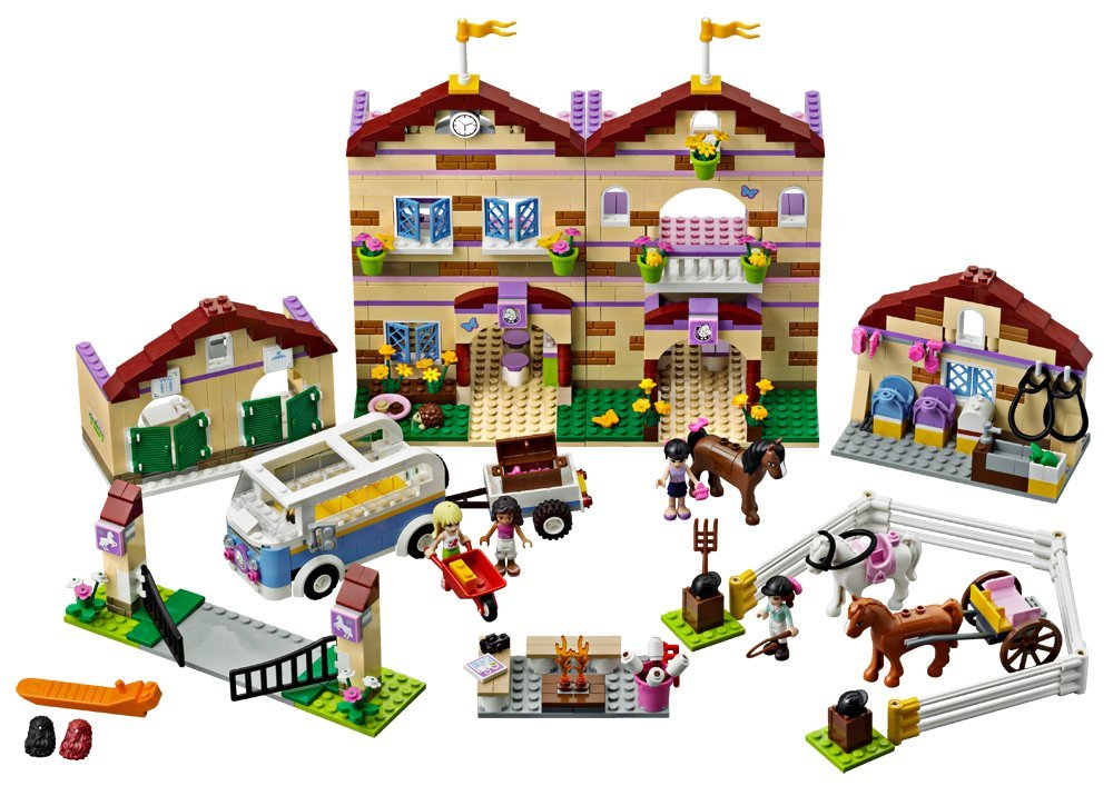 LEGO Friends Summer Riding Camp 3185 Lego horse farm