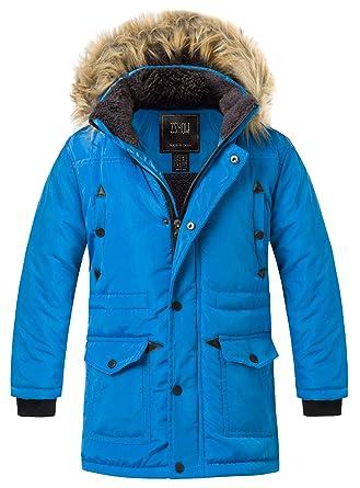 7ed4c2639 Amazon.com  ZSHOW Boy s Active Hooded Puffer Jacket Padded Winter ...