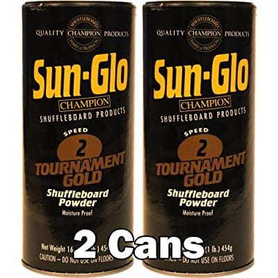 Sun-Glo #2 Shuffleboard Powder Wax (16 oz.) (Pack of 2) : Sports & Outdoors