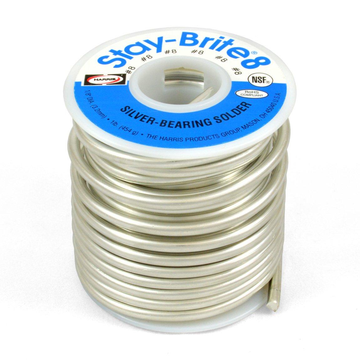 Ha Sta-brite 8 1/8'' 1#10009 (348-SB861) Category: Solder Alloys and Fluxes