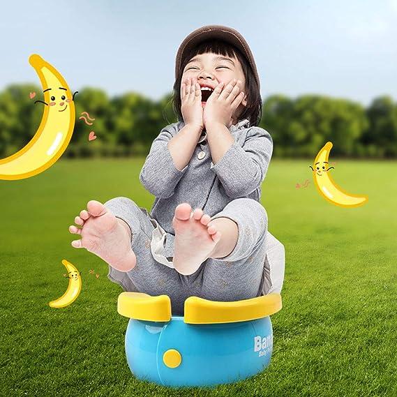 Babys Und Kleinkinder Kinder-T/öpfchentraining Campingurlaub Mit Dem Auto Urinal F/ür Jungen Und M/ädchen KJSMA Tragbares Reisetopf F/ür Kinder Yellow