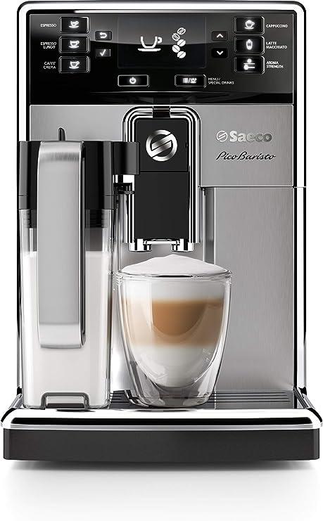 Saeco HD8927/47 PicoBaristo Super Automatic Espresso Machine, 1.8 L, Stainless Steel