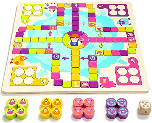 ZaiQu Juguetes para niños Juegos de Mesa de jardín de Infantes ...