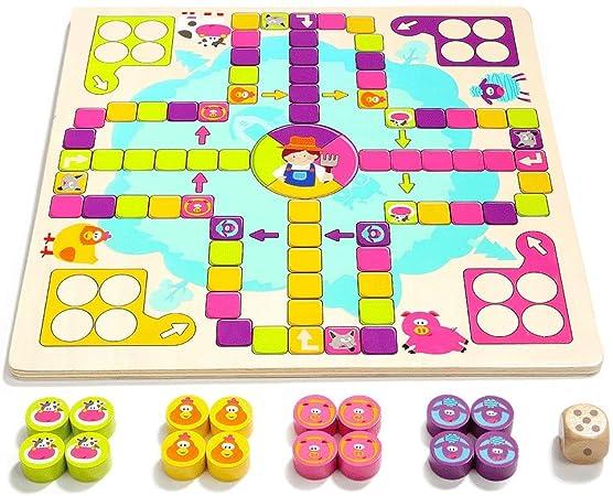 Little Toys Juguetes para niños Juegos de Mesa de jardín de ...