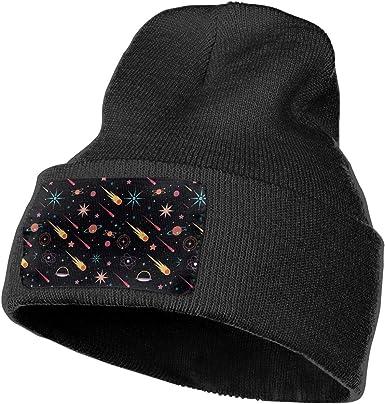 Fox Trees Warm Knit Winter Solid Beanie Hat Unisex Skull Cap