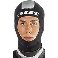 Cressi Hood Unisex Capucha en Neopreno de 3mm, Negro, L/6-7