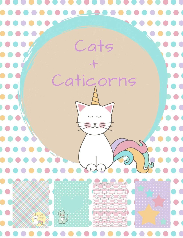 Cats and Caticorns: Sticker Album and Scrapbook: Kitty