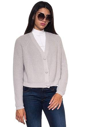 Emporio Armani - Gilet - Femme Gris Gris  Amazon.fr  Vêtements et  accessoires 4c90935e5ed