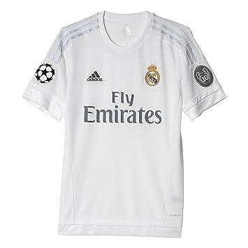 ace302c42 2015-2016 Real Madrid Adidas UCL Home Football Shirt  Amazon.com.au ...