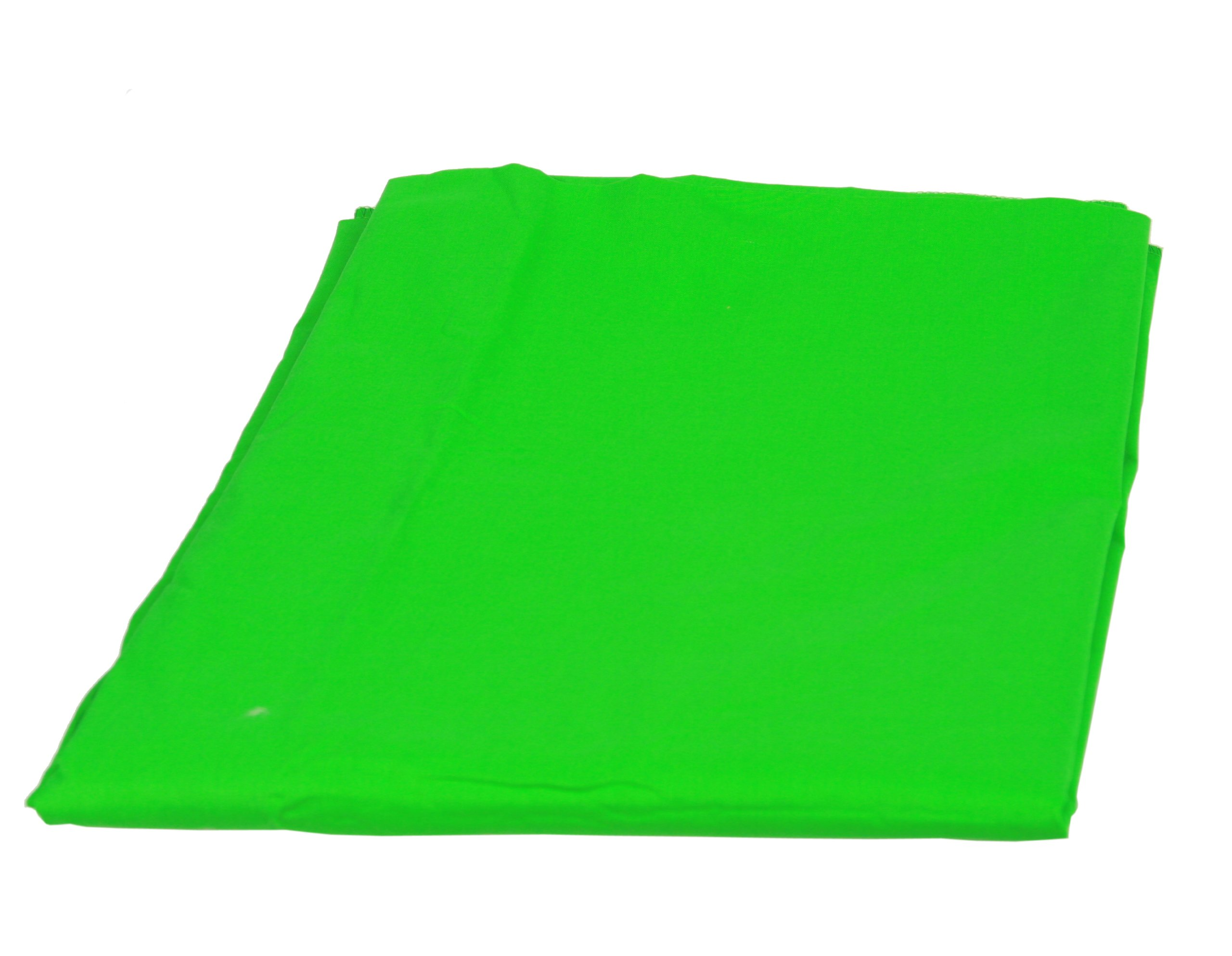 Background Stand Backdrop Support System Kit with 6ft x 9ft Chromakey Green Screen Muslin Backdrop by Fancierstudio 9115+6x9G by Fancierstudio