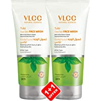 VLCC Tulsi Acne Clear Face Wash, 150 ml (Pack of 2)