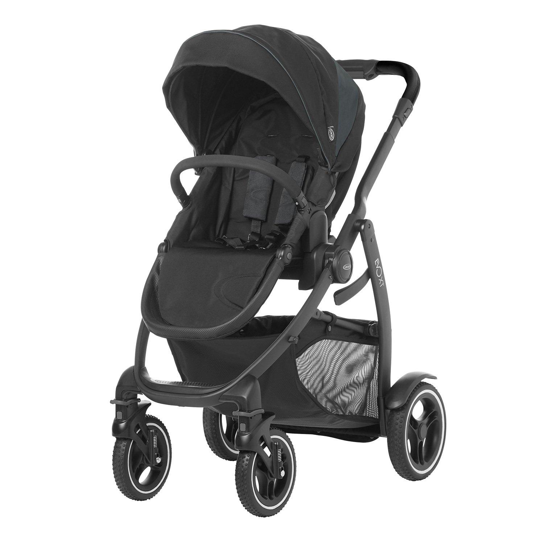 Graco Evo XT - Coche de bebé, color gris y negro: Amazon.es ...