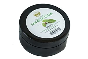 Pain Relief Therapy Cream [2 Oz] - Natural Therapeutic Grade Essential Oil for Arthritis, Back Pain, Sore Muscles, Joints Pain. Safe and Effective, no side effect. Control pain, tingling or numbness