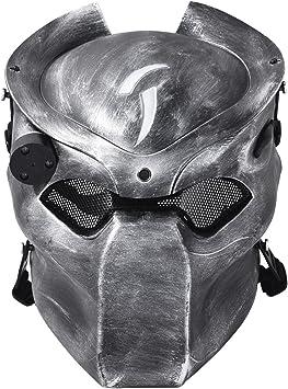 Outgeek Máscara de Airsoft, mascarillas tácticas de máscara de ...