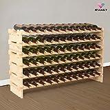 UEnjoy Wine Racks 72 Bottles Holder Stackable Display Shelves