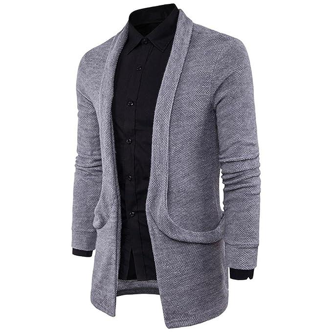 Ropa de Abrigo para Hombre, RETUROM Moda Hombre Nuevo suéter ...