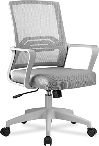 MTY CH118-VC Office Ergonomic Desk Mid Back Swivel Mesh Computer Chair