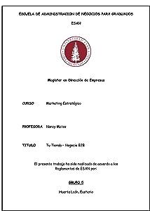 Tu tienda - Negocio B2B (Spanish Edition)