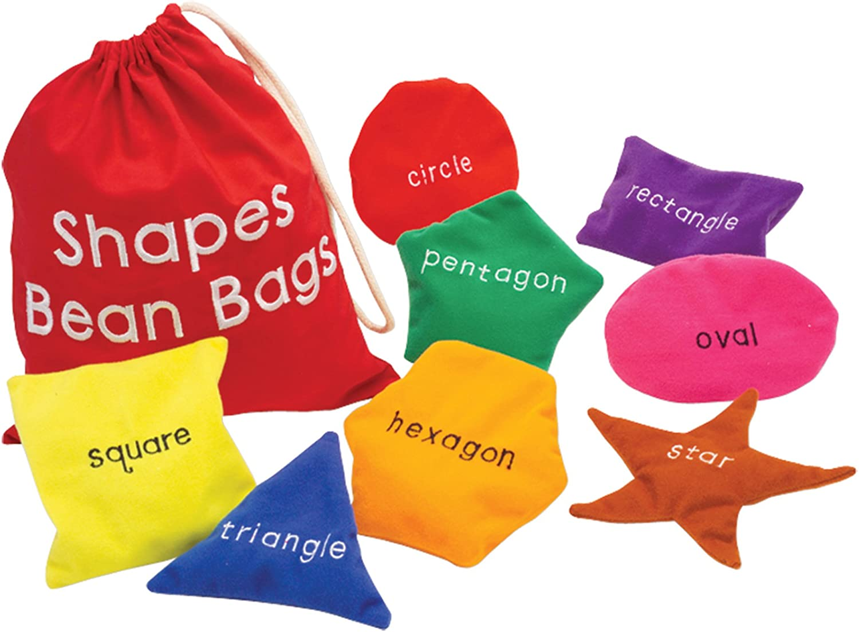 B000MEB5LM Educational Insights Shapes Beanbags 712ePrFiDvL