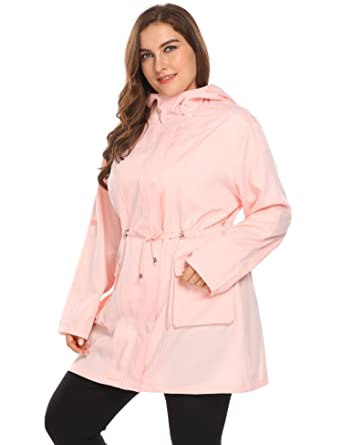 9cdf4a93b5f Image Unavailable. Image not available for. Color  Zeagoo Plus Size Fall  Anorak Street Fashion Hoodies Active ...