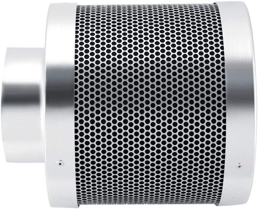 200 mm casa e officina filtro dellaria per coltivazione idroponica filtri ai carboni attivi idroponici per tenere lontani gli odori filtro per tenda in acciaio inox Filtro ai carboni attivi