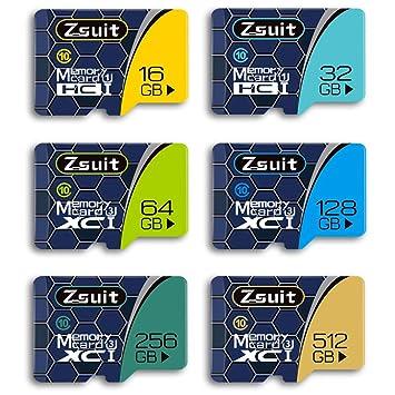 HM2 Tarjetas de Memoria Microsd, 16GB 32GB 64GB 128GB 256GB ...