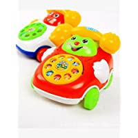 Nisels Kids 2 in 1 Toy, Car Cartoon, Car and Phone Toy, giocattolo educativo