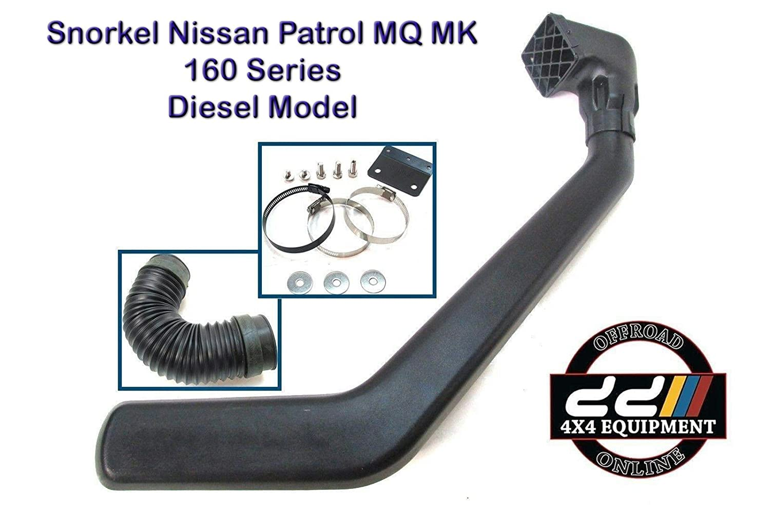 Amazon.com: New 4x4 Off Road Snorkel Kit Fits Nissan Patrol MQ MK 160 Series SD33 Diesel: Automotive