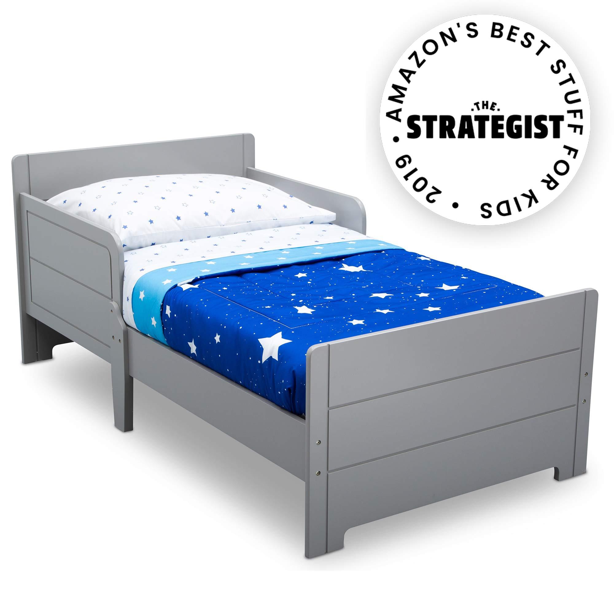 Delta Children MySize Toddler Bed, Grey by Delta Children