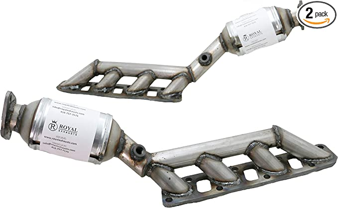 Fits 2004 To 2010 Infinity QX56 Rear Left /& Right 5.6L Catalytic Converters