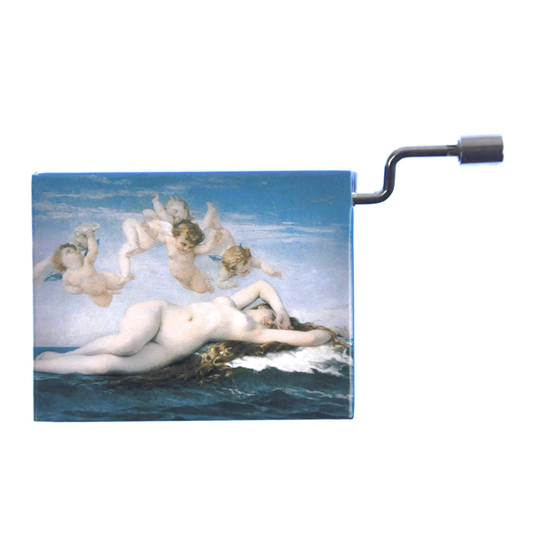 Fridolin 58053 Arabesque/Cabanel Birth of Venus Music Box