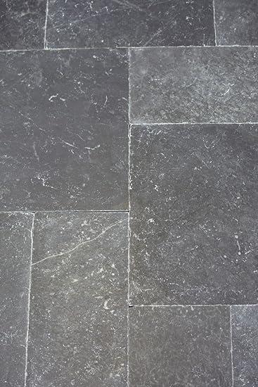 Fliese Marmor Naturstein schwarz Fliese Römischer Verband Nero ...