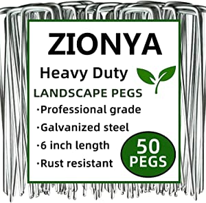 ZIONYA Lawn Stakes 50 PCS 6