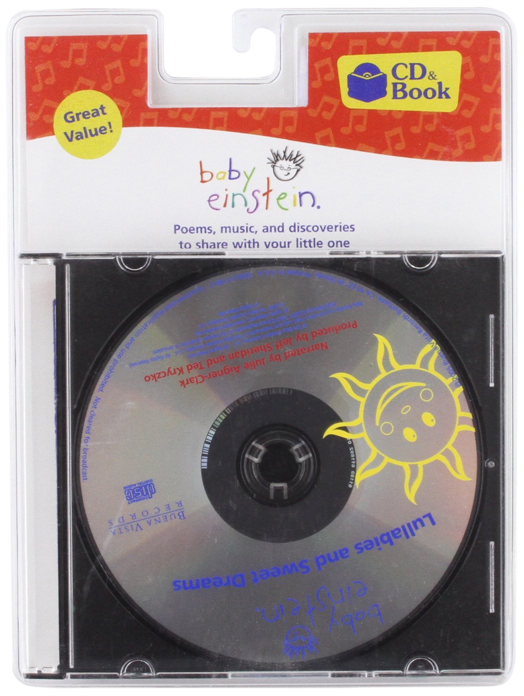 Baby Einstein: Lullabies and Sweet Dreams (Baby Einstein (Audio)) by Brand: Buena Vista Records