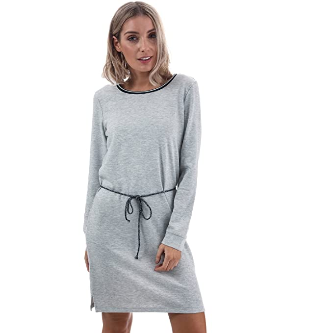 96ca6f495d1f25 Amazon.com  Only Women s Mariza Long Sleeve Sweater Dress Melange ...