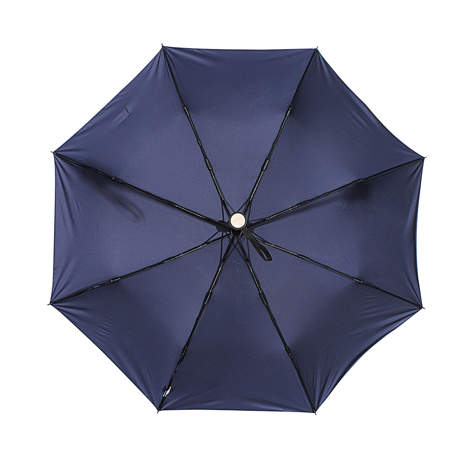 Amazon.com : molshine Automatic Windproof Travel Umbrella-Compact Folding Lightweight Portable Parasol Umbrella for Women, Gift Choice (Dark Blue) : Sports ...