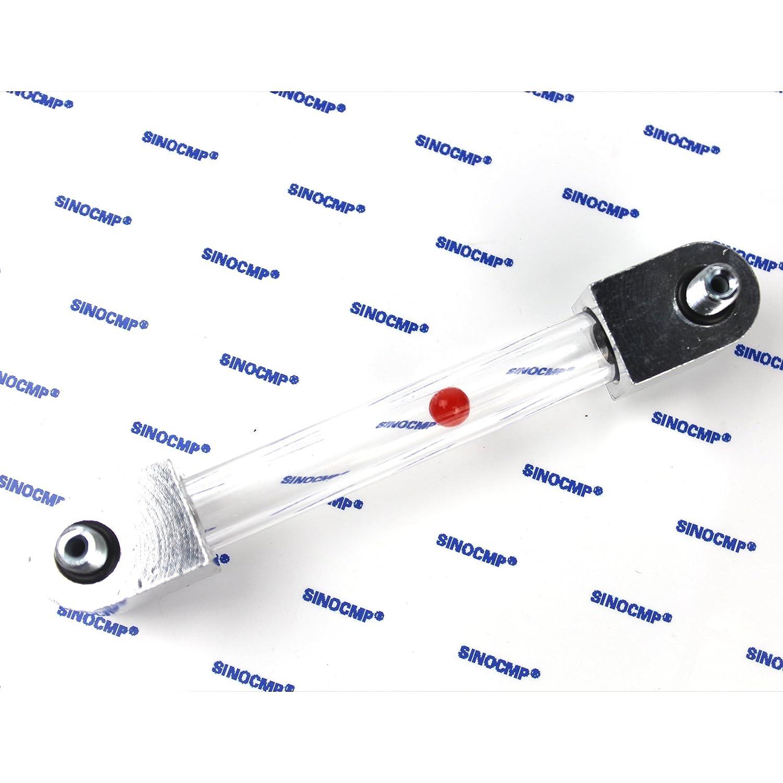 Sinocmp serbatoio dell olio idraulico manometro per Caterpillar Cat E200B E120B E300B 200B 120B 300B E320/Escavatore E312/320/312/oil Dipstick Tube Parts 3/mesi di garanzia
