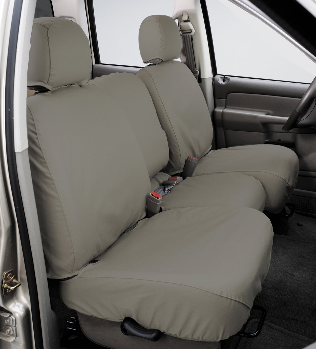 Polycotton Misty Grey SS7420PCCT Covercraft SeatSaver Second Row Custom Fit Seat Cover for Select Subaru Forester Models