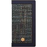 SLG Design iPhone XS/X ケース 手帳型 本革 Edition Calf Skin Leather Diary ネイビー(エディション カーフスキンレザーダイアリー)アイフォン カバー レザー 5.8インチ【日本正規代理店品】 SD10551i8