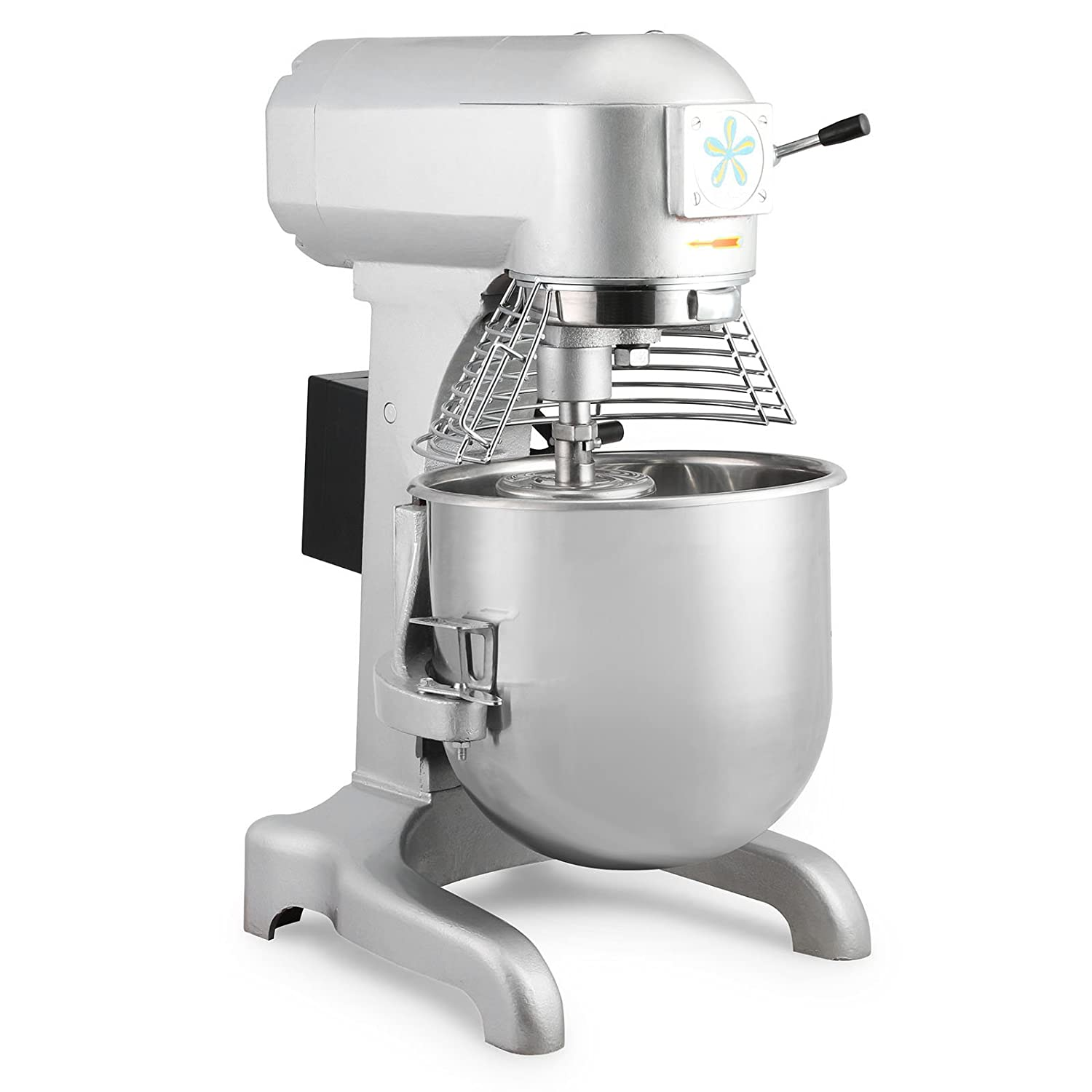 HPcutter Batidora Amasadora Procesador de Alimentos Food Mixer Commercial Food Mixer 20L 750W Electric Dough Mixer with 3 Agitator Attachments (20L): ...