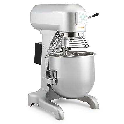 HPcutter Batidora Amasadora Procesador de Alimentos Food Mixer Commercial Food Mixer 20L 750W Electric Dough Mixer