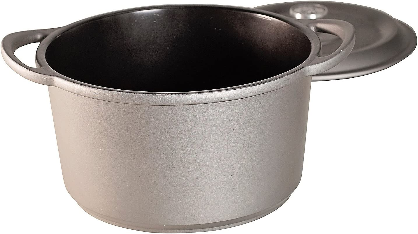 Nordic Ware Dutch Oven with Cover Slate 3-qt.