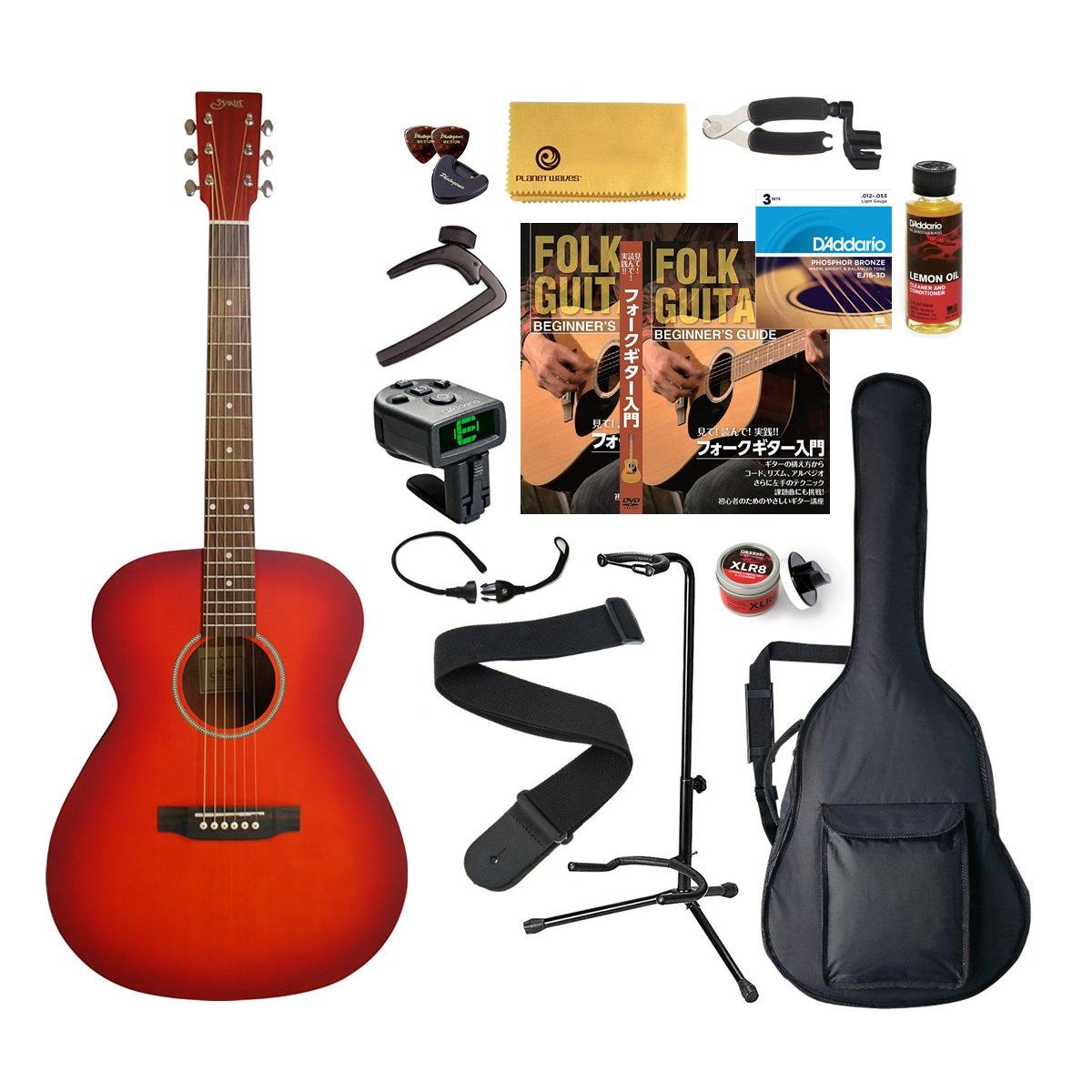 S.Yairi ヤイリ アコースティックギター Amazonオリジナル16点 パーフェクトセット YF-04/CS B018S3DO6W  チェリーサンバースト