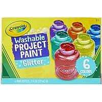 Crayola Glitter Paint Set, Multi-Colour, 59 ml, CY54-2400